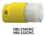 Hubbell stekker (TYPE 3) alleen 16A/230V