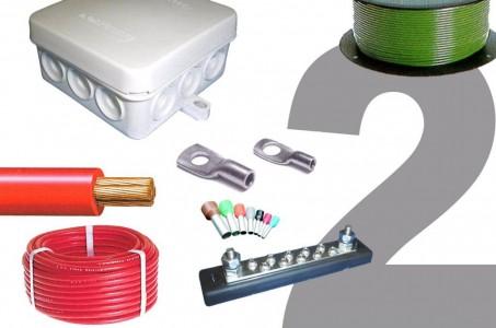 Kabels, aansluitmateriaal en accessoires