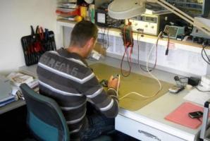 Werkplaats voor reparaties